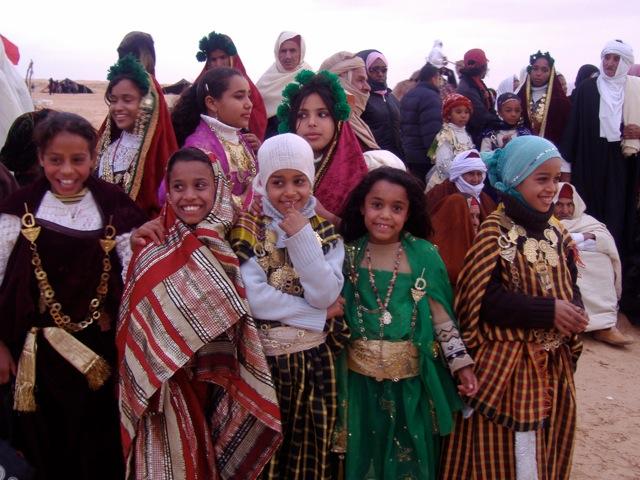 チュニジアの子供達
