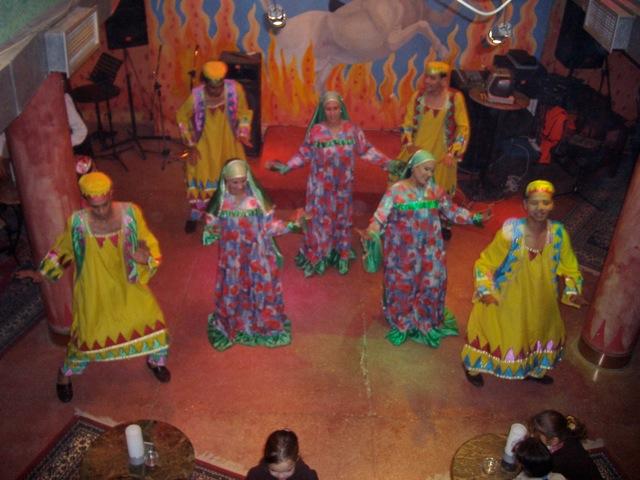 エジプトの民俗舞踊団ヌビア