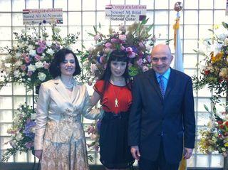 エジプト大使ご夫妻と